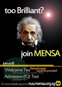 Mensa-poster